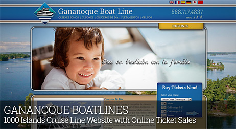 GANANOQUE BOATLINES