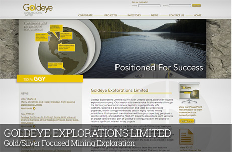 GOLDEYE EXPLORATIONS LIMITED