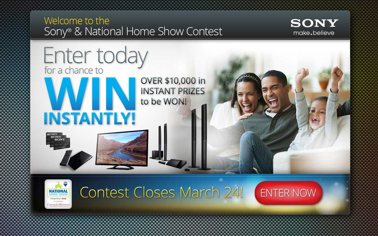Web Contest for SONY