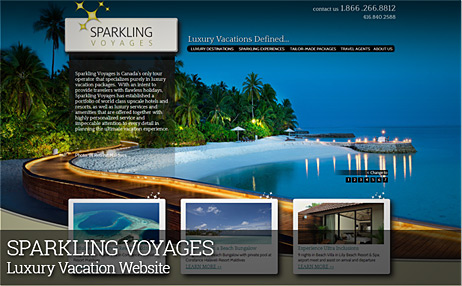 SPARKLING VOYAGES
